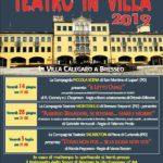 Teatro in Villa 2019